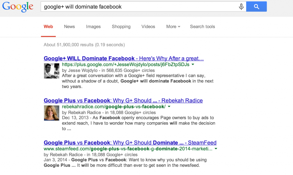google-plus-posts-search