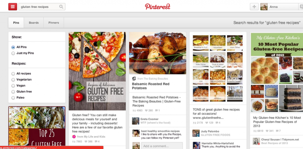 pinterest-search-for-recipes