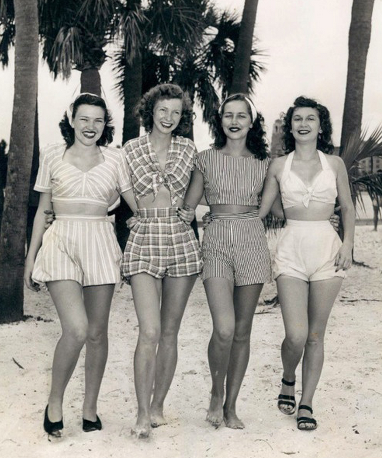history-of-high-waisted-shorts