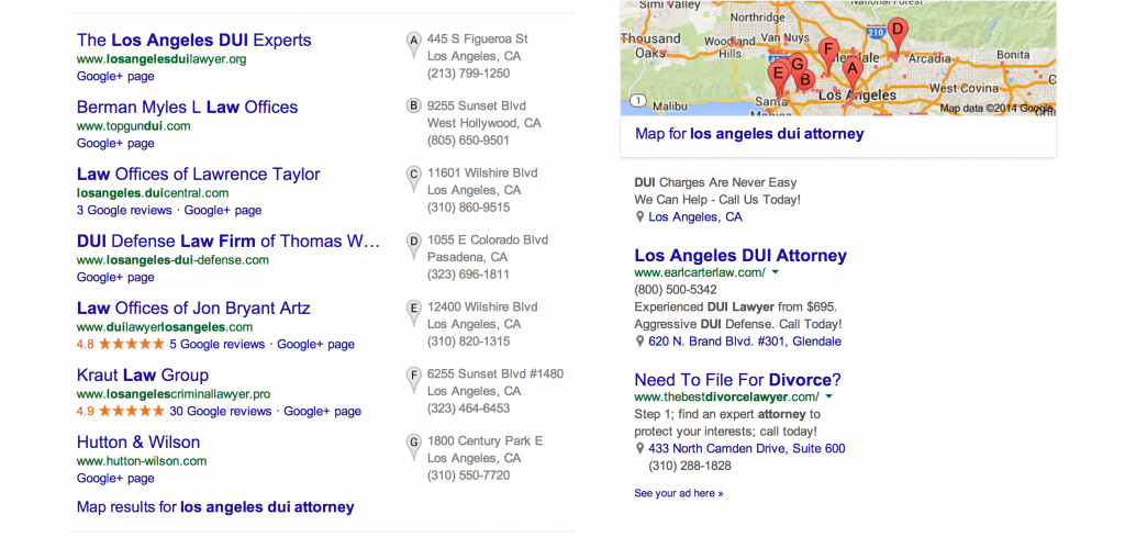 dui-attorney-google-local-search-2014