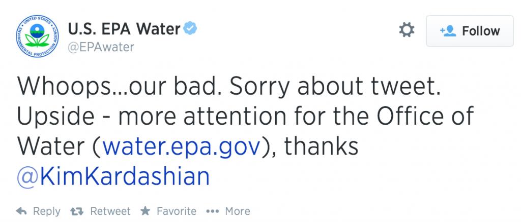 epa-water-Kim-Kardashian-tweet