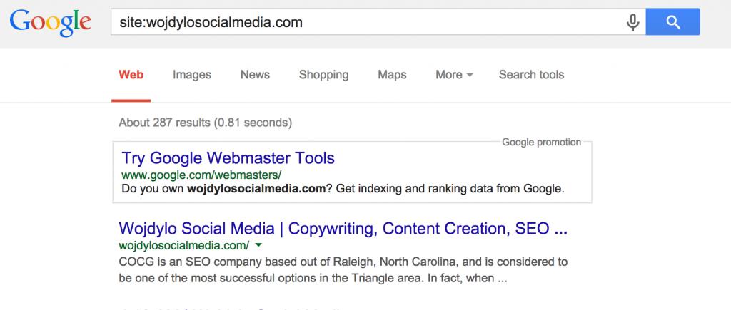 site-google-search