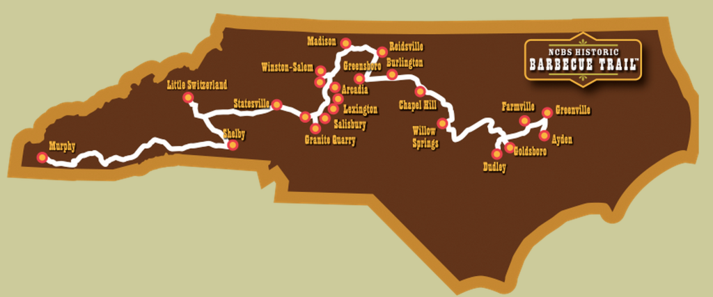 nc-bbq-trail-map