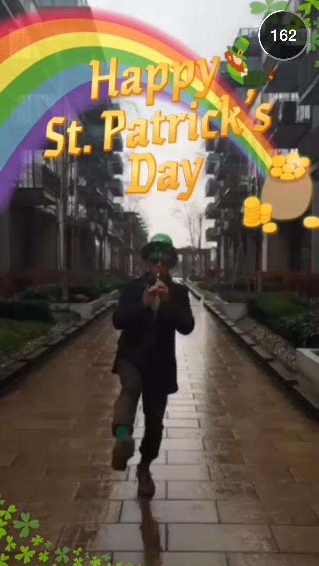 st-patricks-day-snapchat