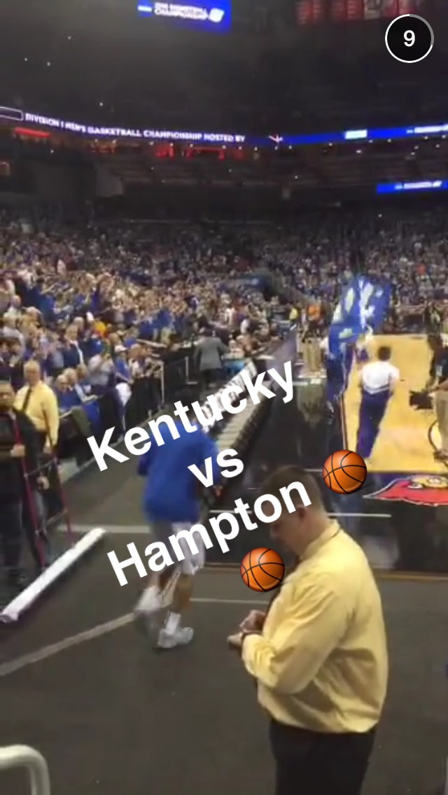 uk-vs-hampton-snapchat-story