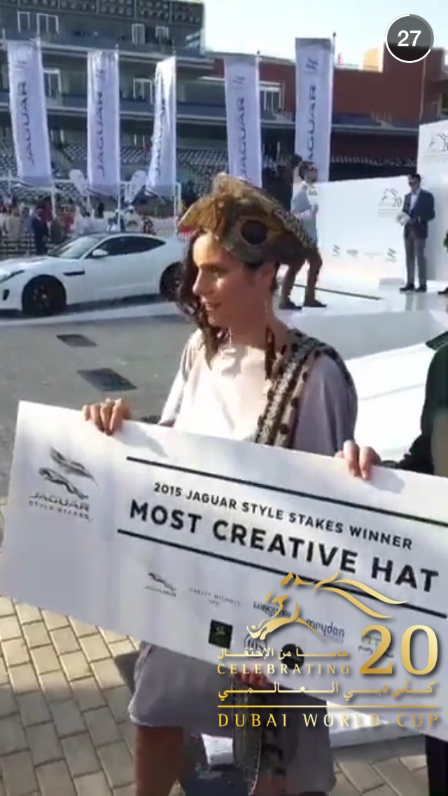 dubai-world-cup-most-creative-hat