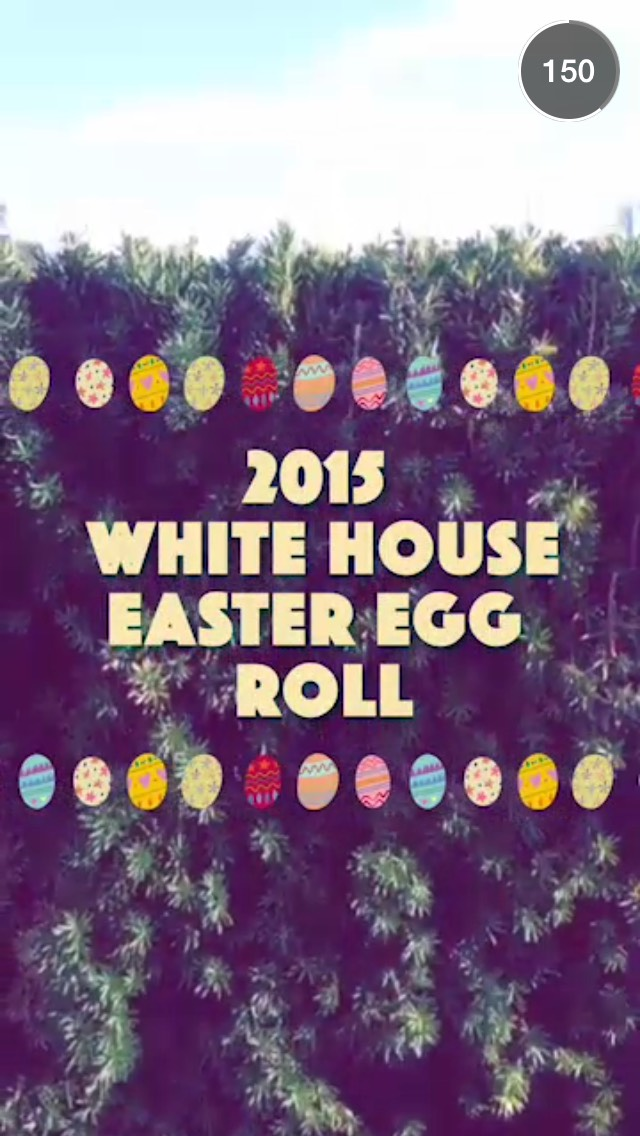 white-house-easter-egg-roll-snapchat