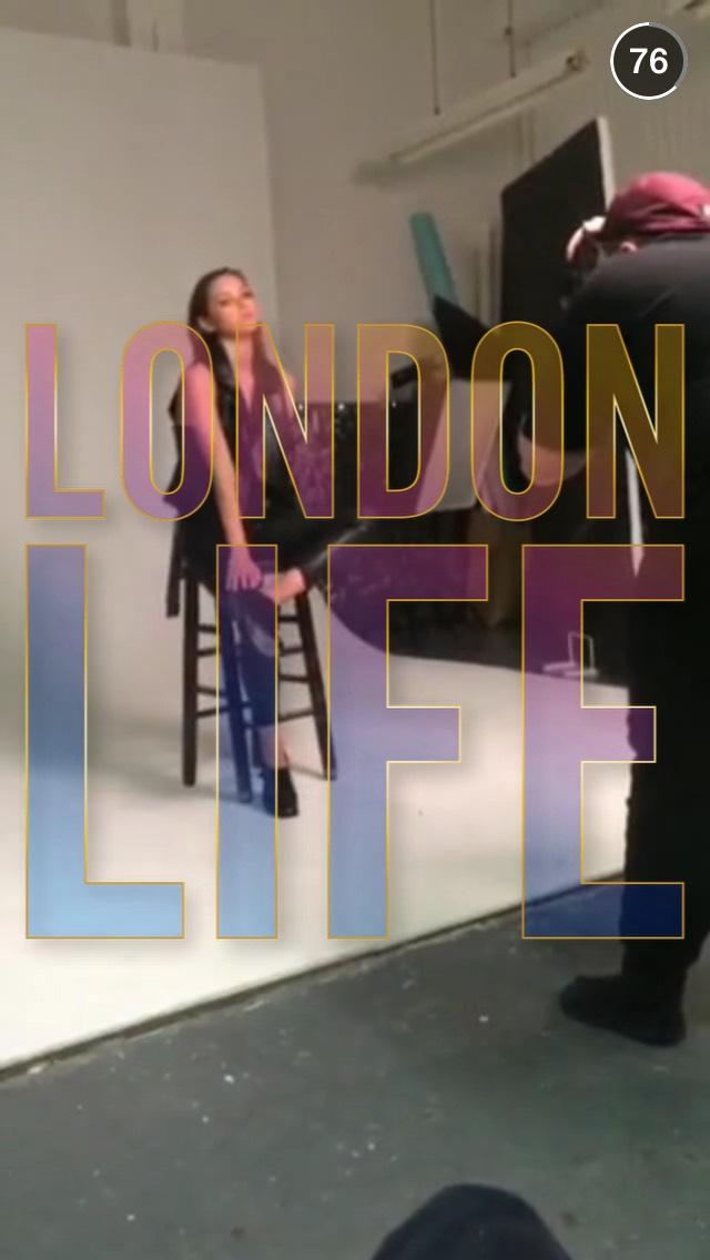 model-london-life-snapchat-story