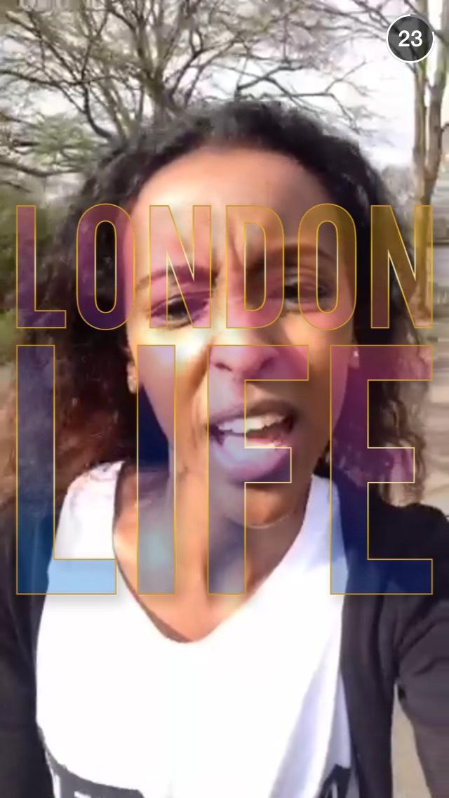 london-life-snapchat-story