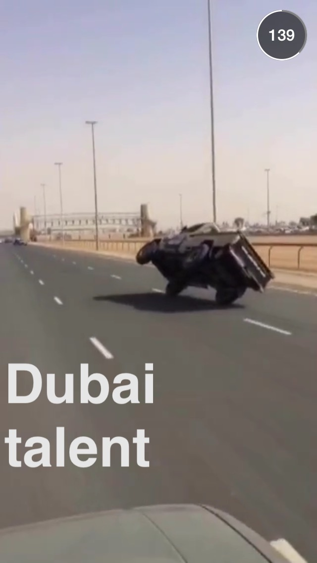 Dubai Life Snapchat Story On April Th Wojdylo Social Media - Cool cars snapchat