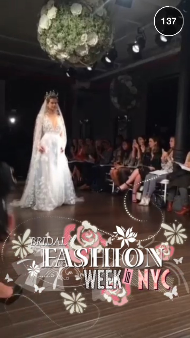 bridal-fashion-week-snapchat