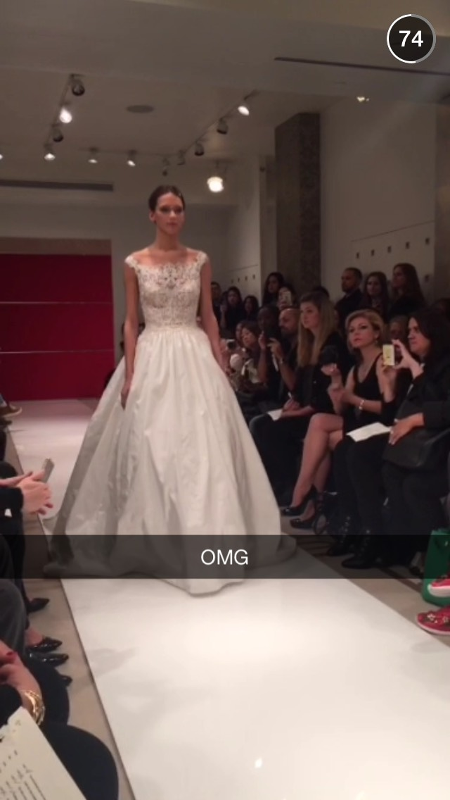 snapchat-runway-wedding-dress