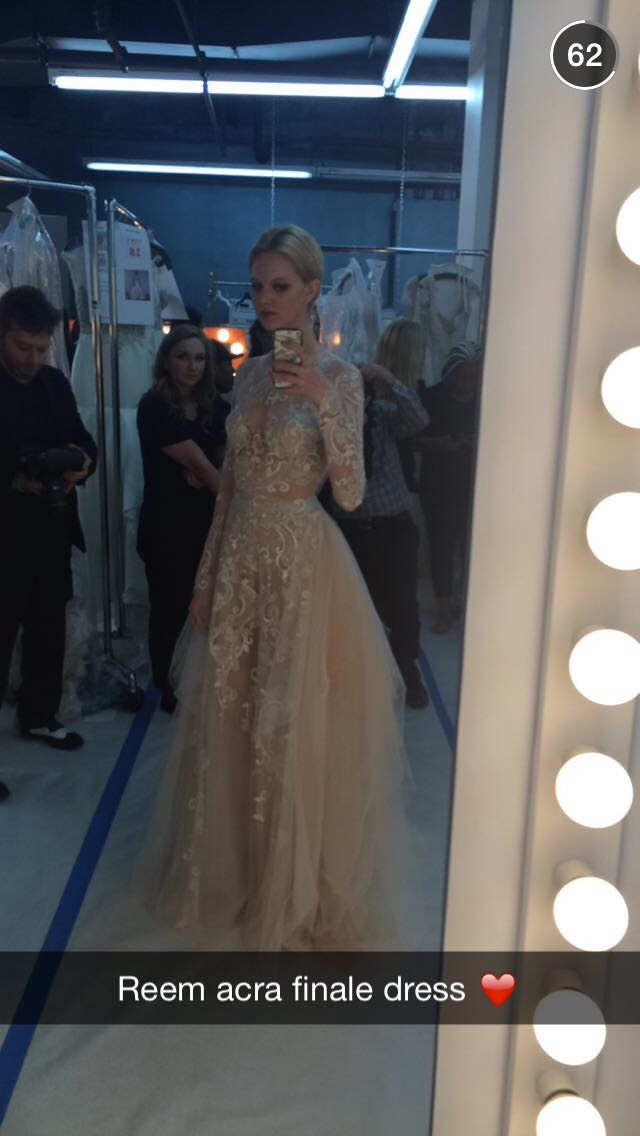 snapchat-selfie-wedding-dress