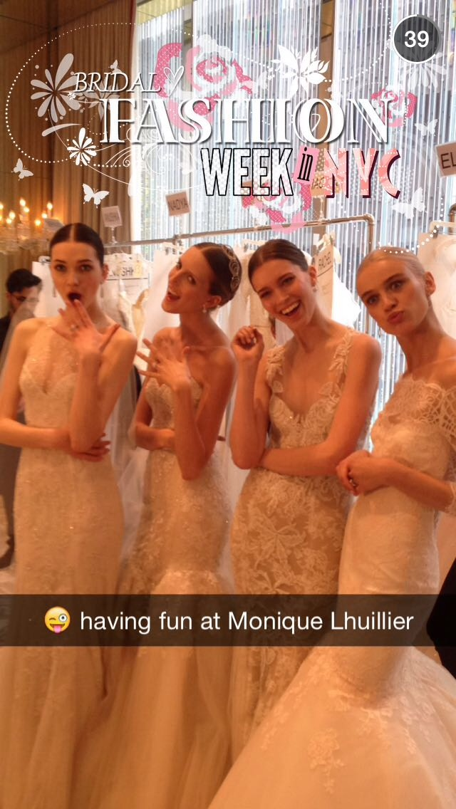 snapchat-bridal-fashion-week-girls