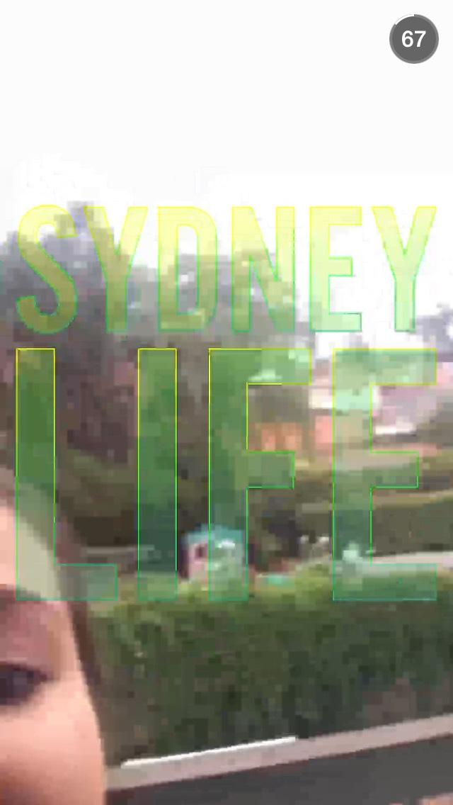 sydney-snapchat-story