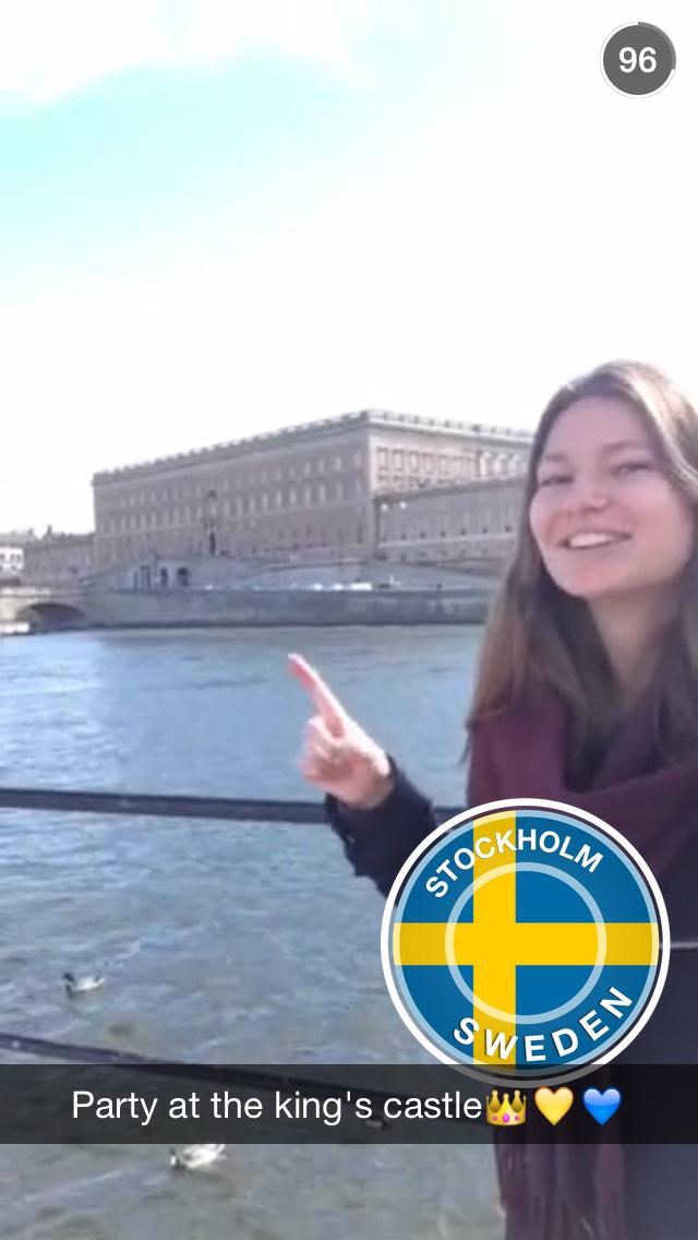Snapchat sweden