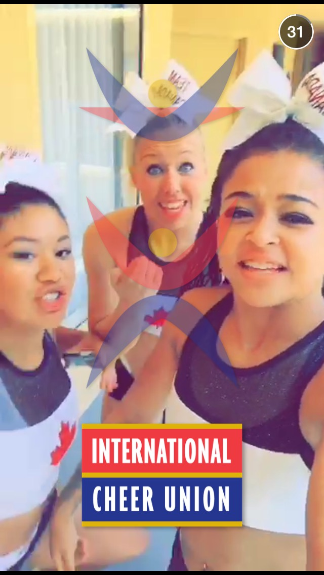 international-cheer-union-snapchat-story