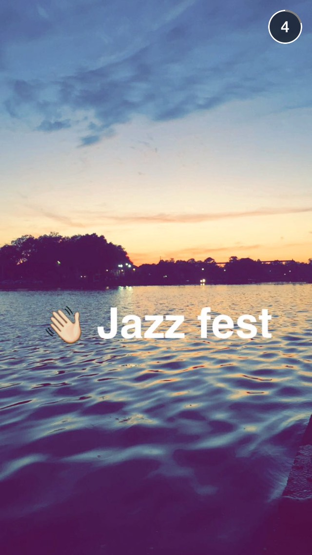jazz-fest-sunset-snapchat-story