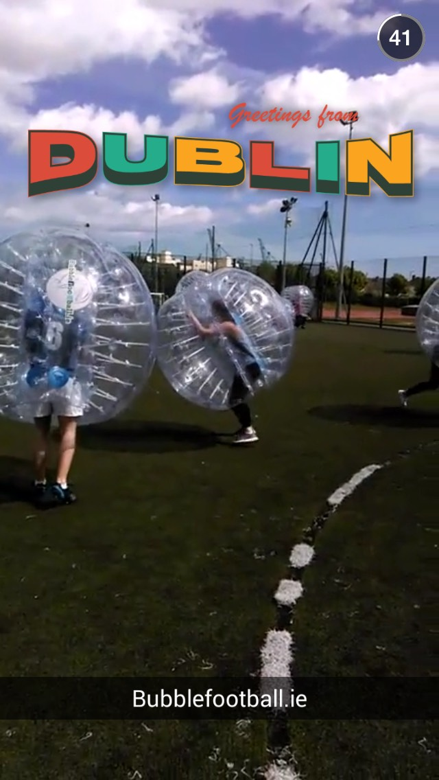 bubble-ball-snapchat-story-ireland