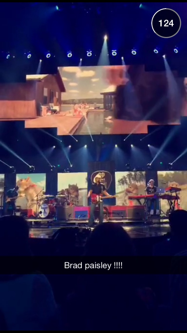 country-music-snapchat-story