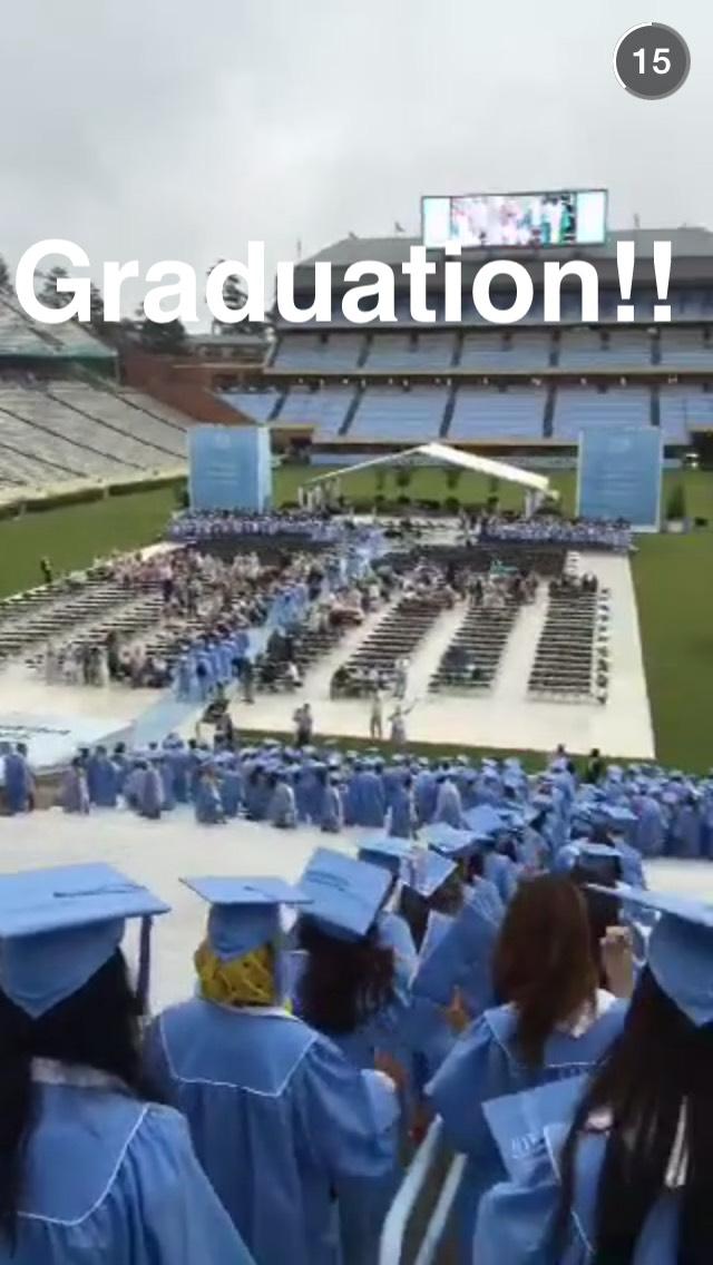 unc-graduation-snapchat-story
