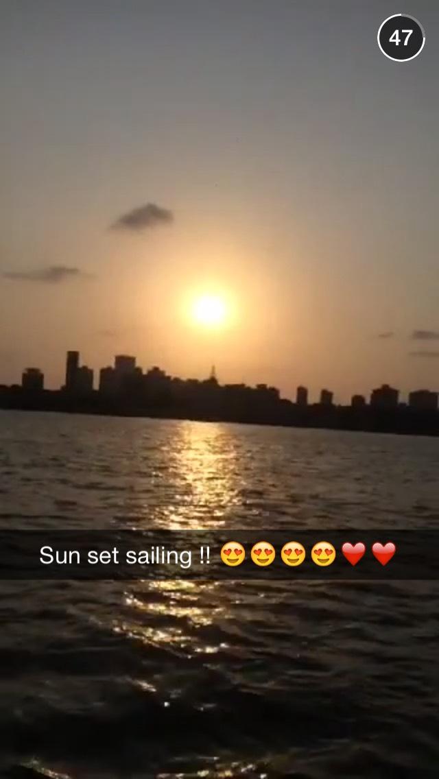sunset-mumbai-snapchat