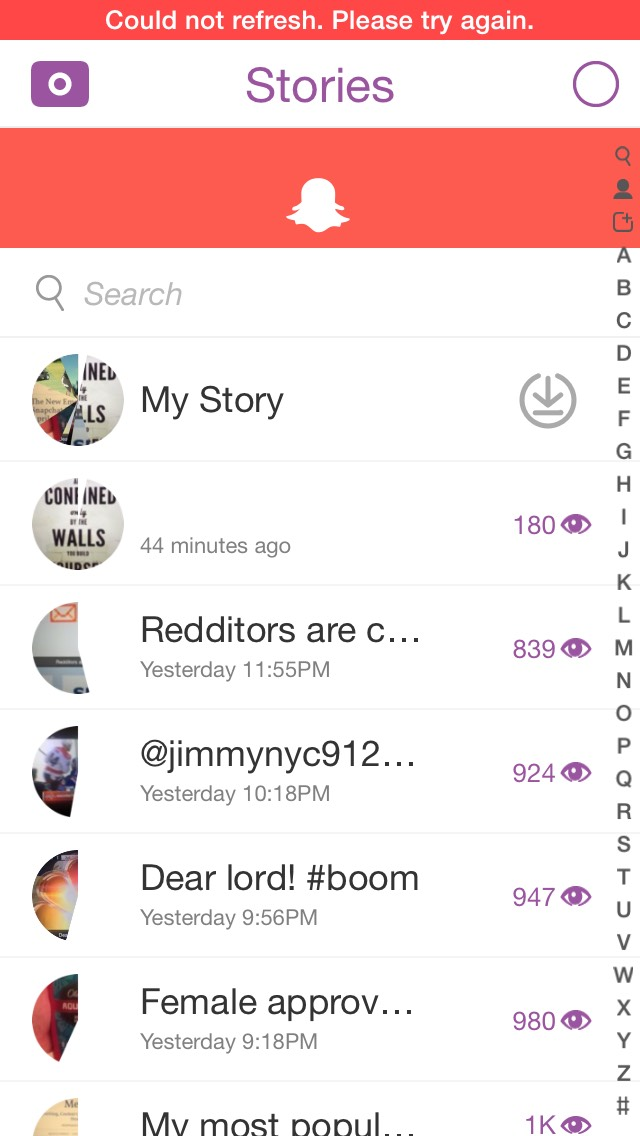 snapchat-down-stories-not-updating