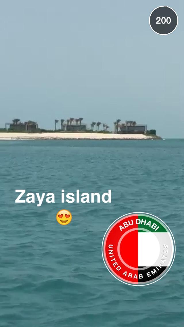 zaya-island-snapchat-story