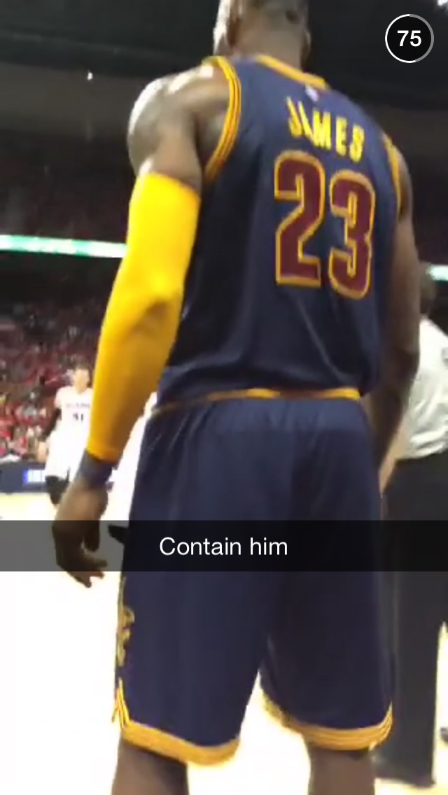 lebron-james-snapchat-story