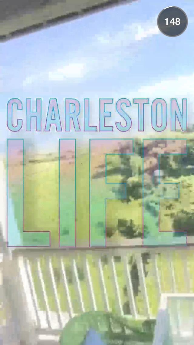 charleston-life-snapchat-story