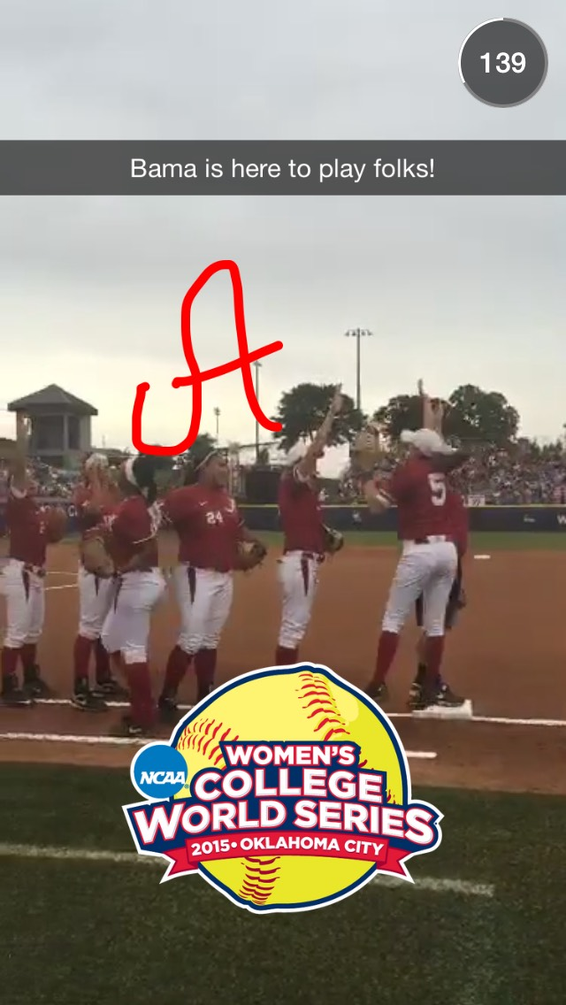 womens-college-world-series-snapchat