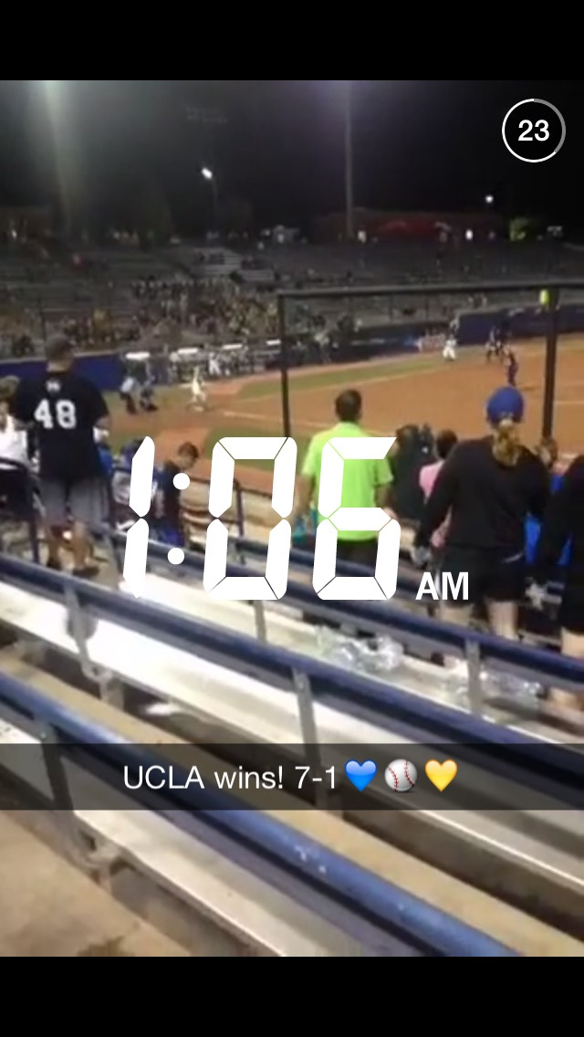 ucla-softball-snapchat-story