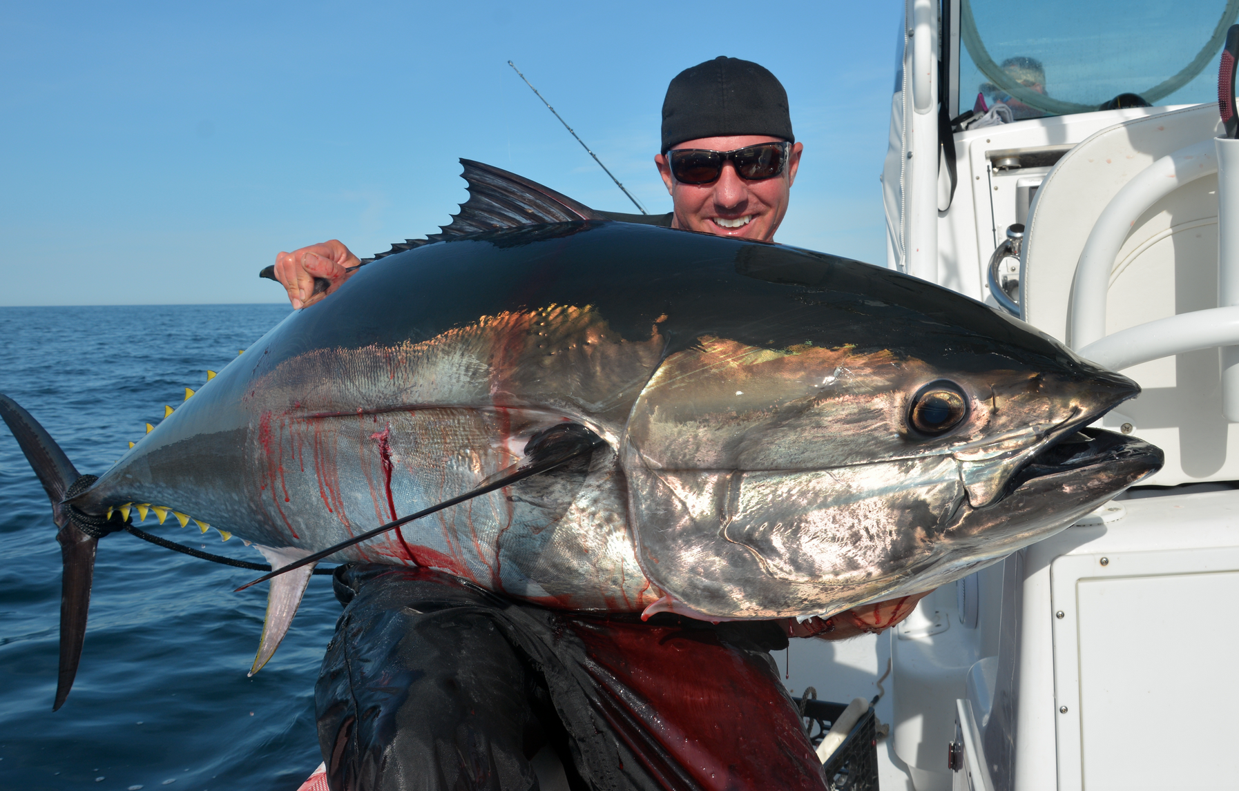 Ricky and nathan brennan of catching monsters discovery tv for What does a tuna fish look like