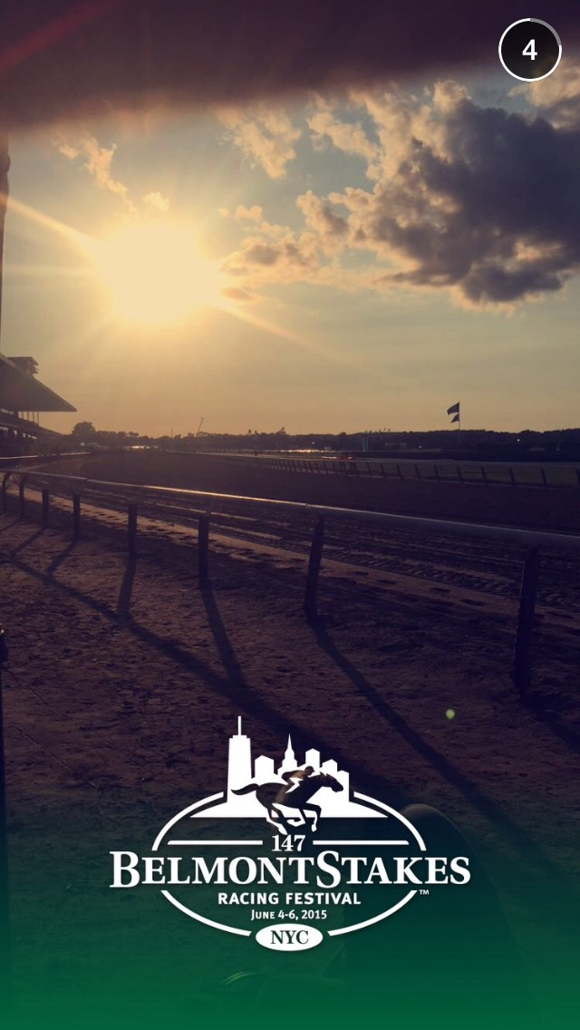 snapchat-story-belmont-triple-crown