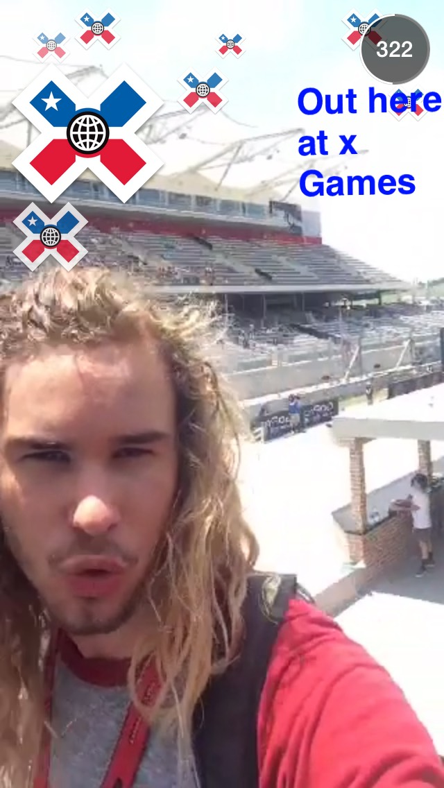summer-x-games-snapchat-story