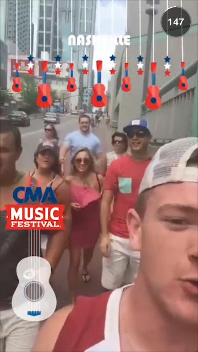 cma-music-fest-snapchat-story