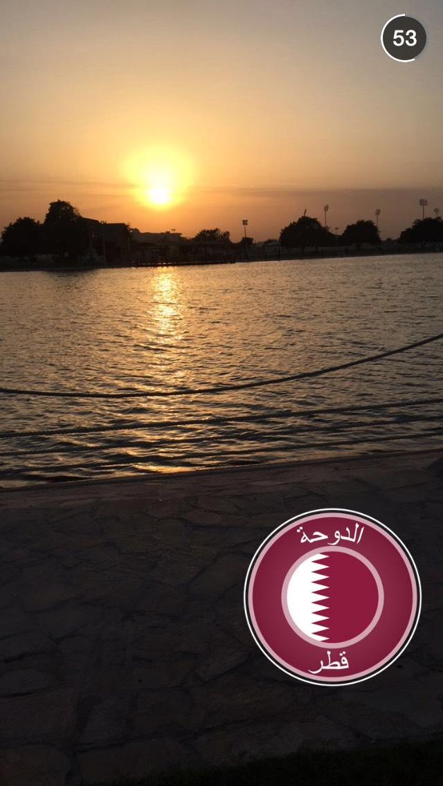 sunset-doha-snapchat-story