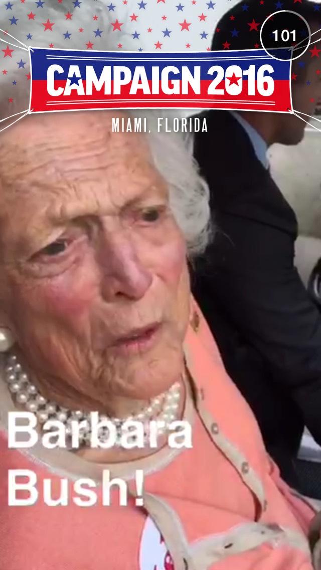 barbara-bush-snapchat-story