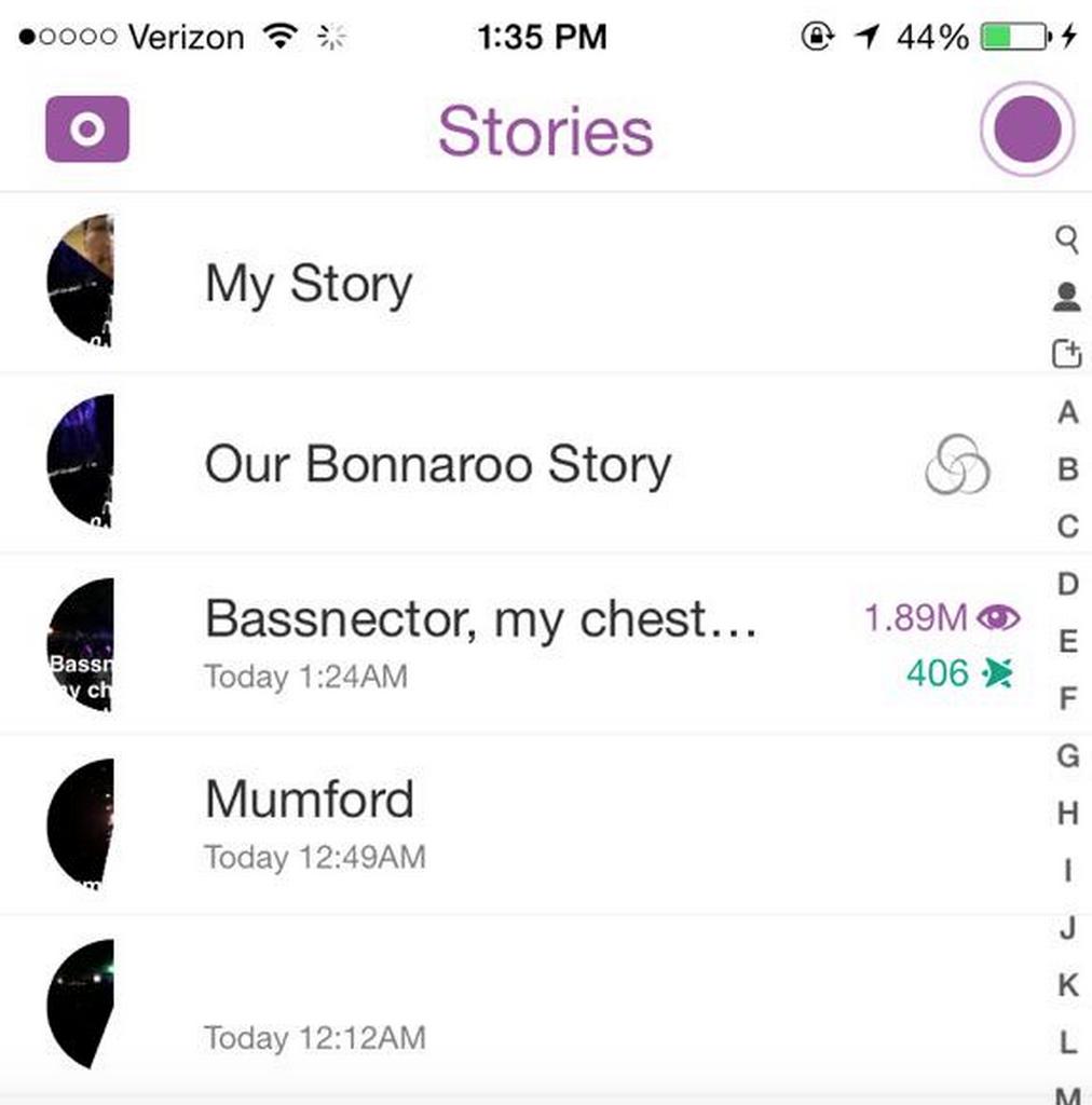 bonnaroo-snapchat-story-views
