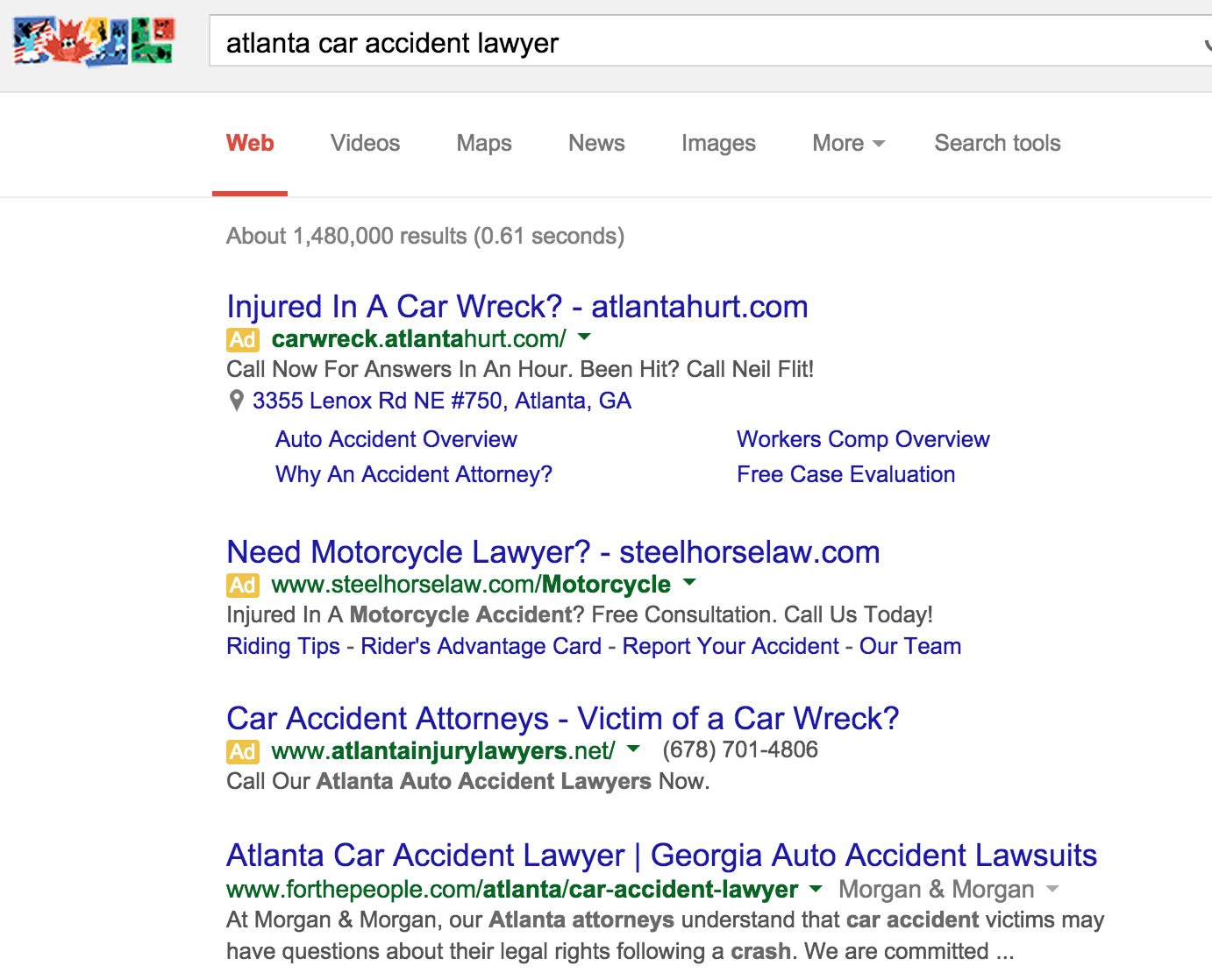 rank-1-google-car-accident-lawyer
