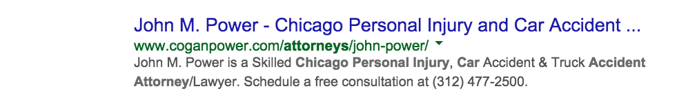 chicago-car-accident-attorney-search-rankings