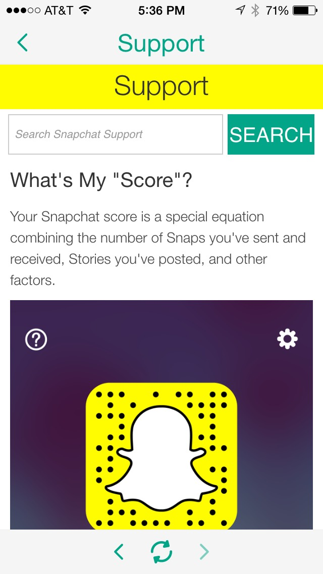 What it means when you cant see someones snapchat score