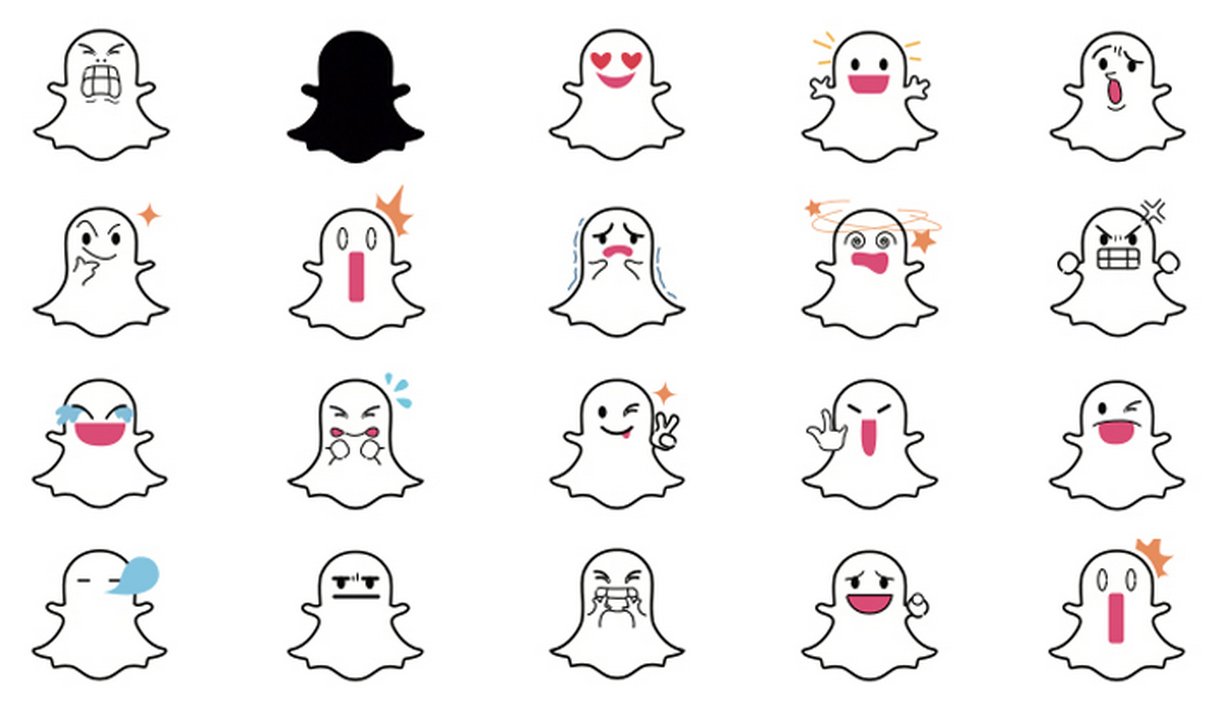 What do the different white ghosts on snapchat mean wojdylo white ghosts snapchat added you biocorpaavc Choice Image