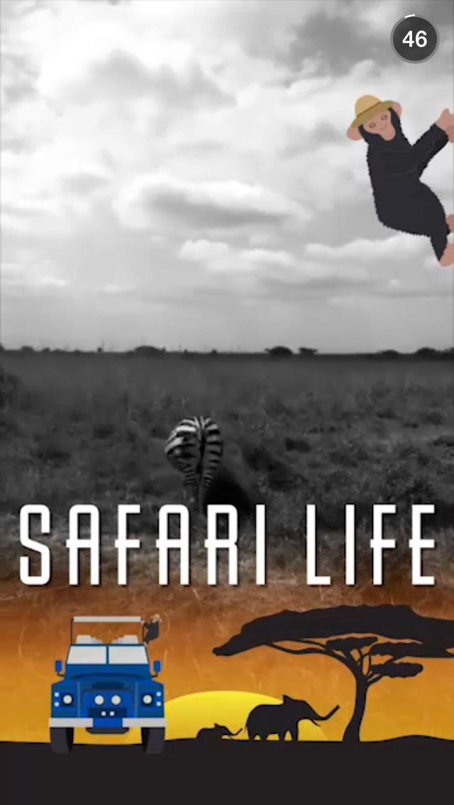 safari-life-snapchat-story