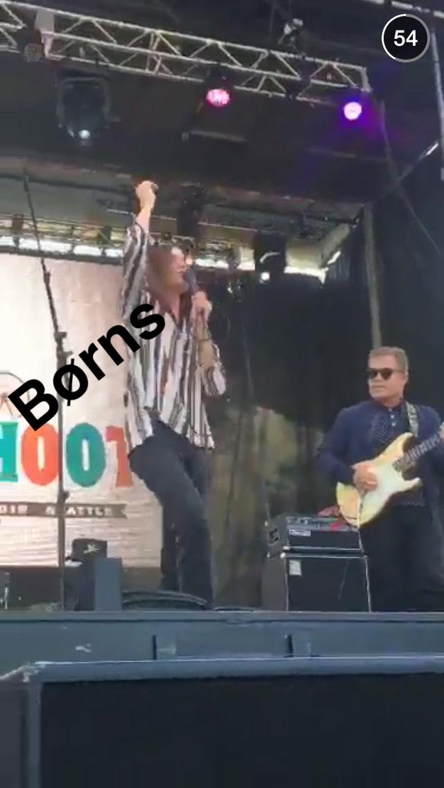 borns-bumbershoot-snapchat-story