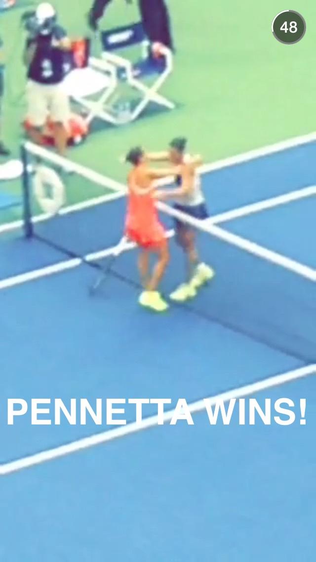 pennetta-snapchat-story