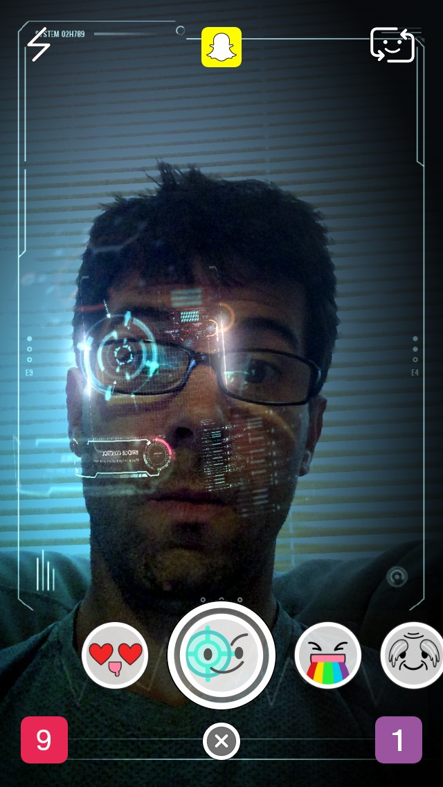 snapchat-robot-selfie
