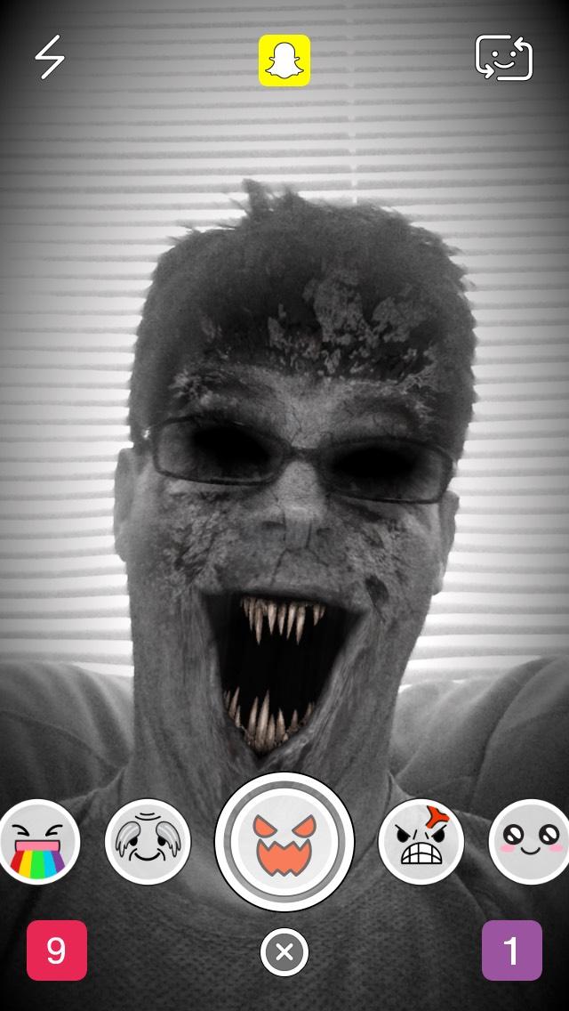 snapchat-zombie-selfie