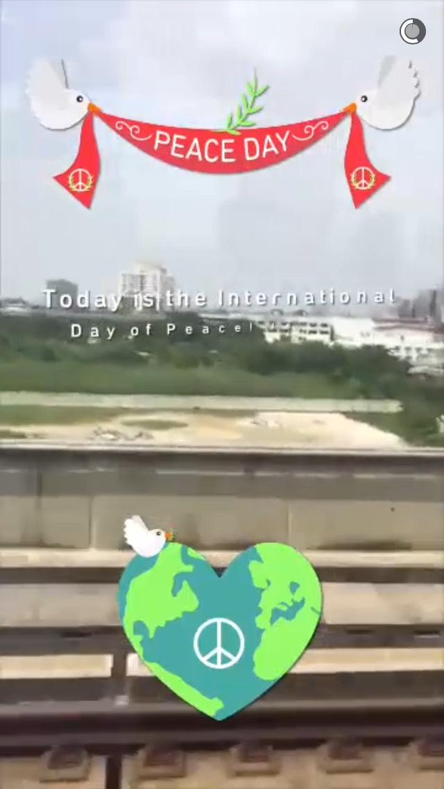 world-peace-day-snapchat-story