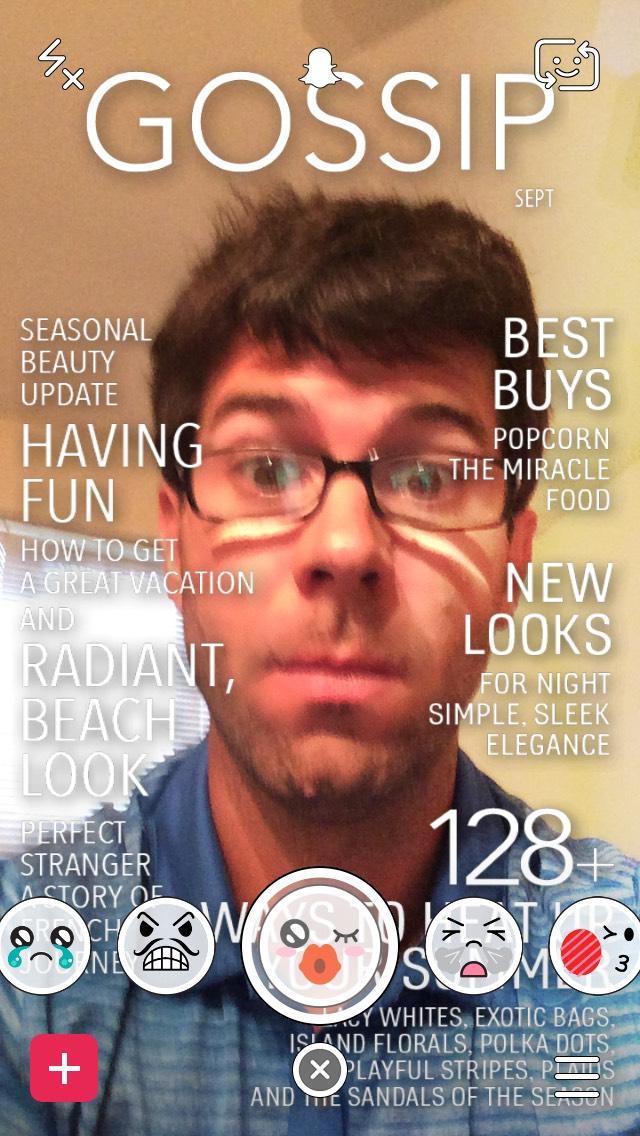 snapchat-gossip-magazine-cover-selfie-filter